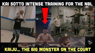 Kai Sotto behind the scenes training video in preparation for the NBL | Alagang OVERTIME