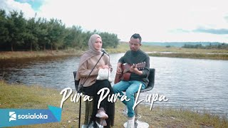 Download Mp3 Pura Pura Lupa - Mahen   Ipank Yuniar Ft. Sanathanias Cover & Lirik