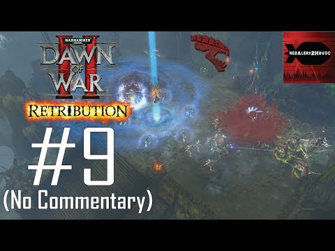 WH40K Dawn of War 2: Retribution: Tyranids Campaign Playthrough Part 9 (Typhon Arena, No Commentary) |