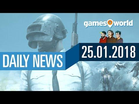 Metro Exodus wird riesig, Ubisofts Gaming-App, PUBG | Gamesworld Daily News - 25.01.2018