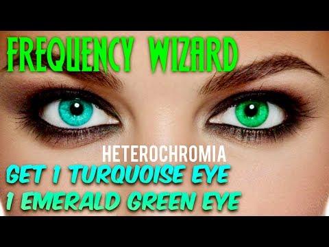 ⚡️GET 1 TURQUOISE EYE & 1 EMERALD GREEN EYE FAST! HETEROCHROMIA SUBLIMINAL BIOKINESIS BINAURAL BEATS