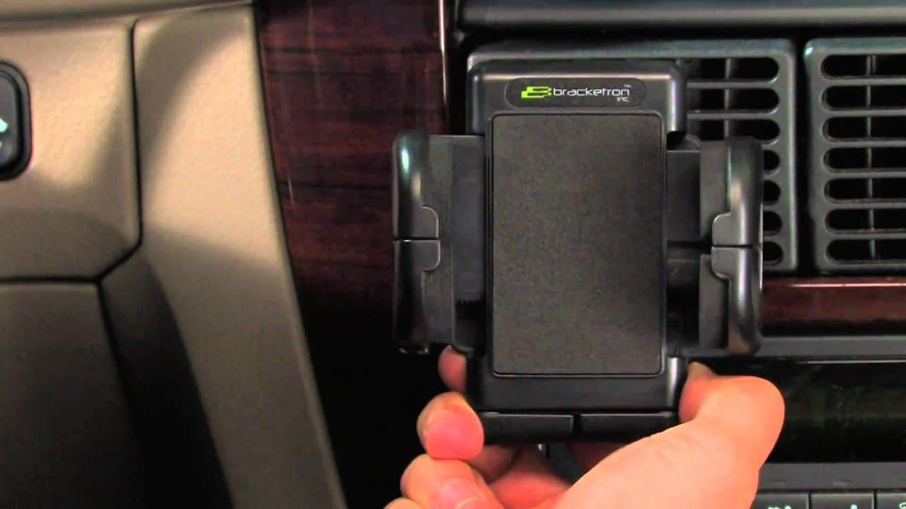 Bracketron Universal Mobile Holder With Vent Mount - Cellular