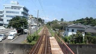 肥薩おれんじ鉄道 阿久根駅 普通 上り 到着