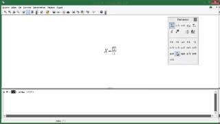 Openoffice Math