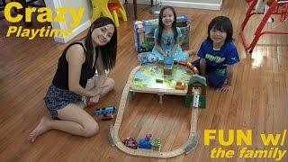 Thomas & Friends Wooden Railway: Mountaintop Supply Run Set Playtime W/ The Kids