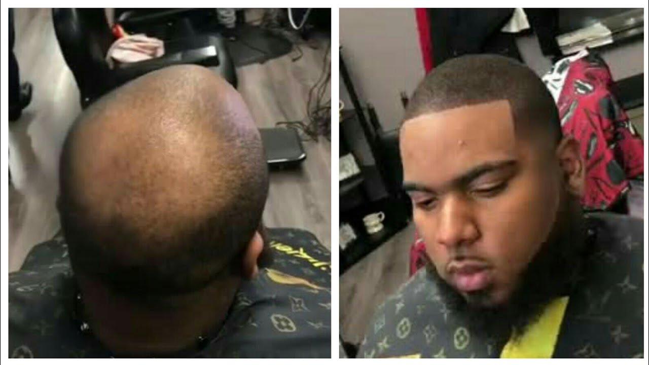 Hair Fiber Transformations | Cut By JM DaBarber & XO Izzy | Afro Haircut