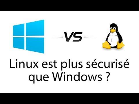 Linux est plus sécurisé que Windows ?