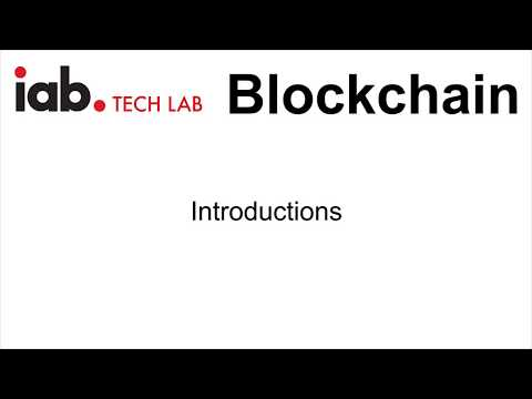 Blockchain in Advertising: Panel Discussion (Introductions)