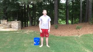 Asher Accepts the ALS Ice Water Bucket Challenge