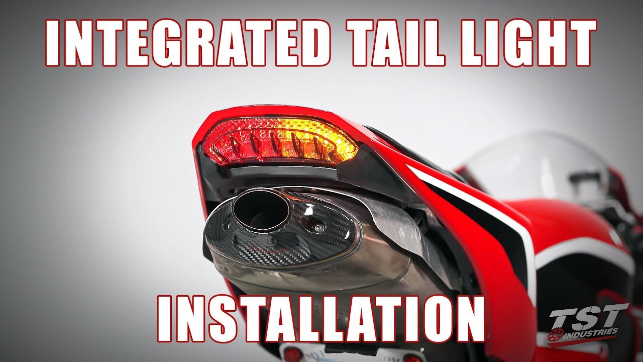 Turn Signal HONDA 2013-2016 CBR600RR Sequential Led Tail Light Clear Lens Int