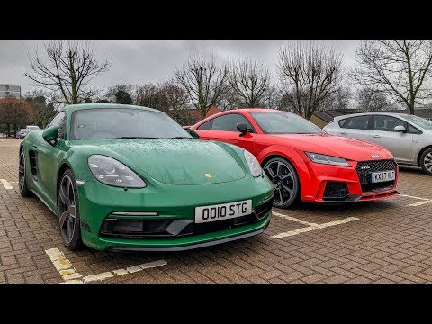 Porsche 718 Cayman S or Audi TT-RS?