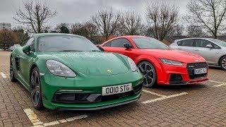 Porsche 718 Cayman S or Audi TT-RS?