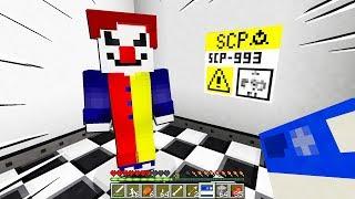 NON RIDERE DI QUESTO PAGLIACCIO!!! - Minecraft SCP 993