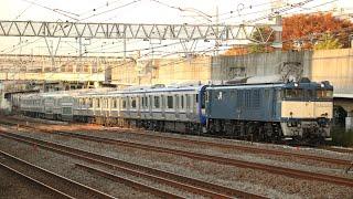 【配給輸送】 EF64-1030+横須賀線 E235系1000番台 11両 横浜~戸塚通過