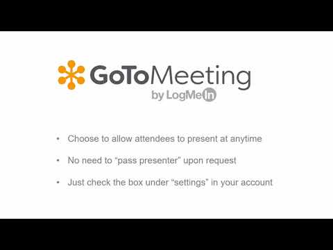 GoToMeeting - Presenter Swap - YouTube