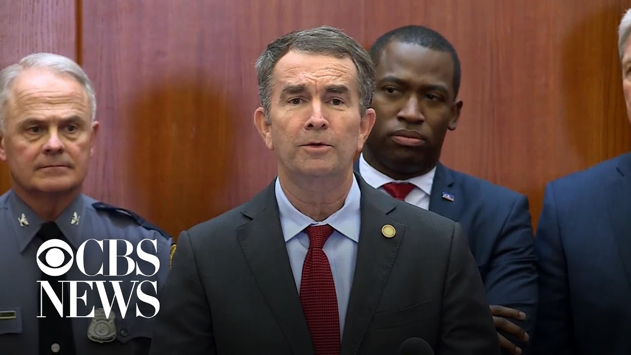 Virginia Governor Declares State Of Emergency Ahead Of Gun ...