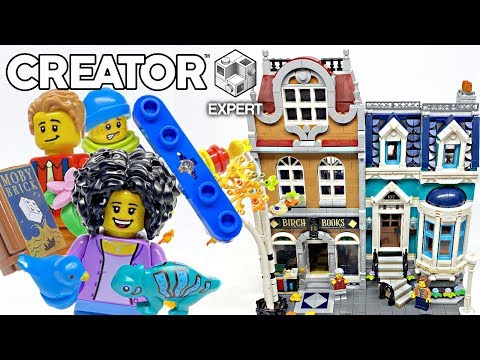 LEGO Bookshop Modular Building review! 2020 set 10270!