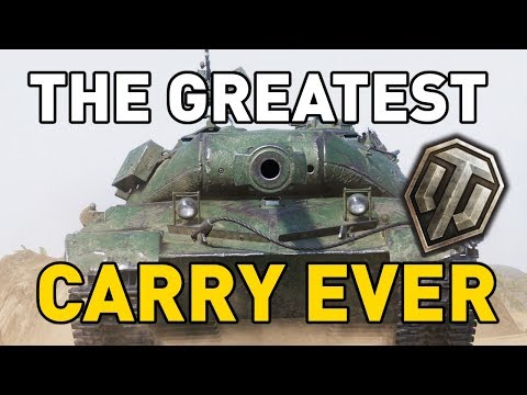 The Greatest Carry Ever in World of Tanks