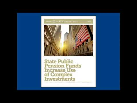 Webinar | Risk and Return: Public Pension Funds' Complex Investment Strategies