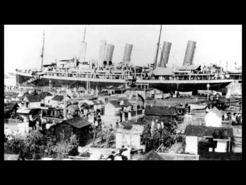 WWI German Sailors In Hampton Roads (World War One)
