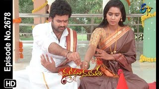 Manasu Mamata | 20th August 2019  | Full Episode No 2678 | ETV Telugu