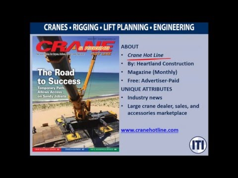 50 Crane & Rigging Resources in 25 Minutes