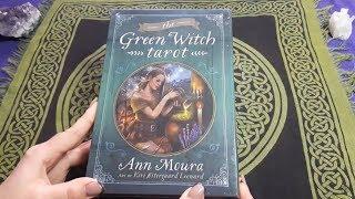 Green Witch Tarot - обзор колоды. Первое впечатление