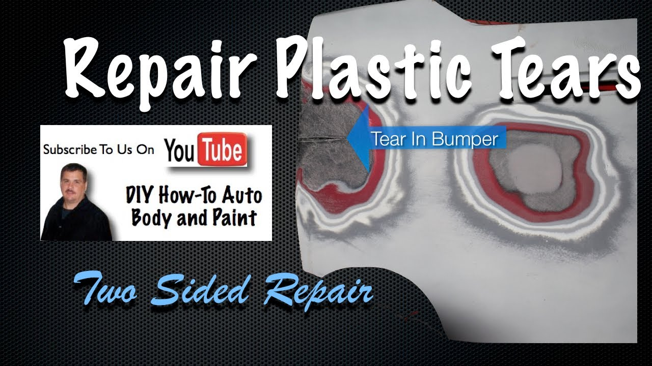 diy plastic bumper repair how to repair cracks or torn in car bumper covers two sided youtube. Black Bedroom Furniture Sets. Home Design Ideas