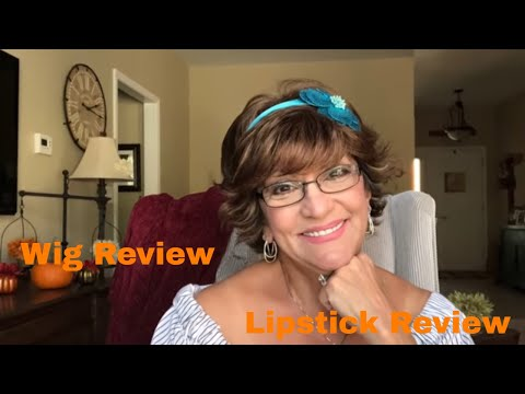 Paula Young Wig Review/lipstick review