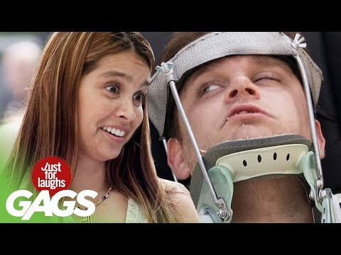 Bird-Feeding Humans Prank - Just For Laughs Gags