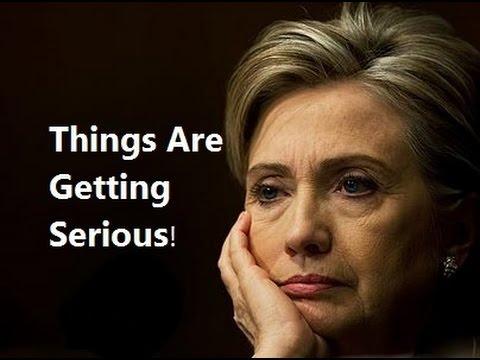 Hillary Clinton Pressed Hard By FBI & Was Likely Filmed! So, Bernie Wins! Details!