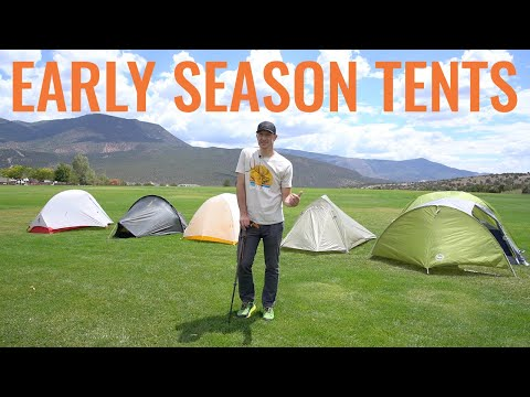 Free Standing Tents For Early Season Hunting
