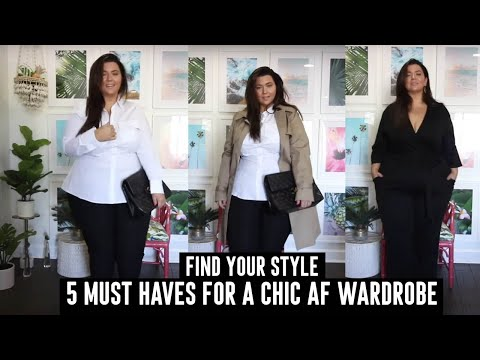 5 PLUS SIZE Wardrobe Essentials for Chic Corporate Style | PLUS SIZE TRY ON HAUL | Sometimes Glam from YouTube · Duration:  15 minutes 48 seconds