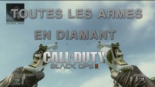 BO2 Toutes les armes en diamant / All diamond weapons