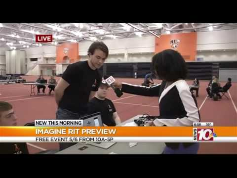 RIT on TV: Imagine RIT Preview - Biometrics Tracking Apparel