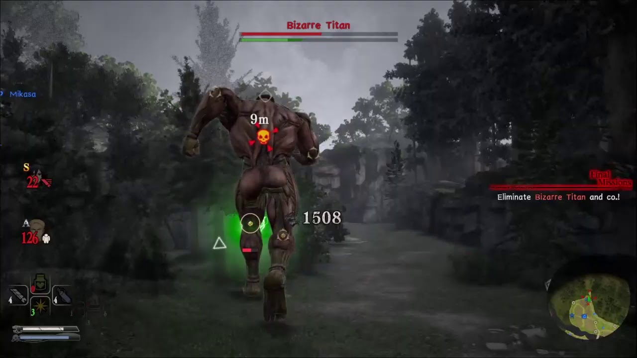 Attack on titan 2 territory recovery gameplay