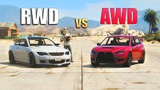 GTA V - Do All Wheel Drive Cars Help You?