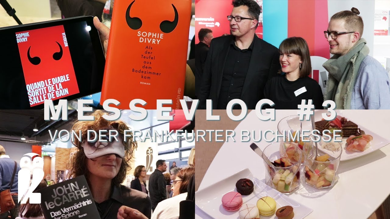 FBM17: MesseVlog #3 | Champagner, Bücher und Awards - YouTube