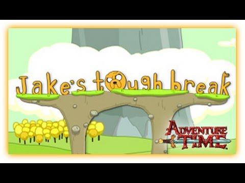 Adventure Time - Jake's Tough Break - Adventure Time Games