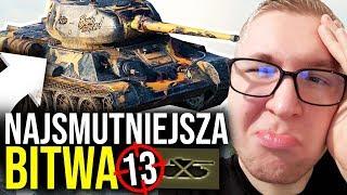 NAJSMUTNIEJSZA BITWA - World of Tanks