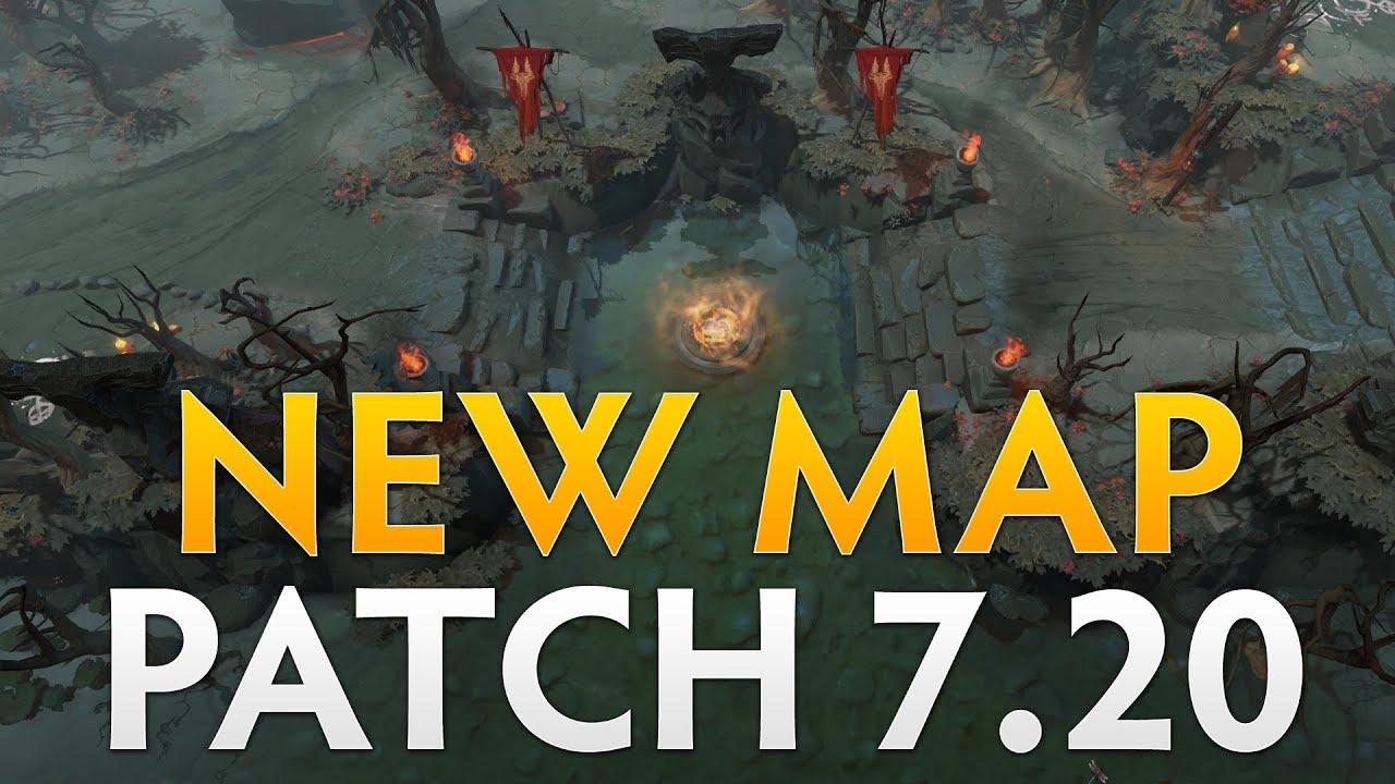 Dota 2 Patch 7 20 - New Map