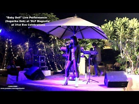 Baby Doll Live Performance (Sagarika Deb) at DLF Magnolia at 31st Eve Celebrations