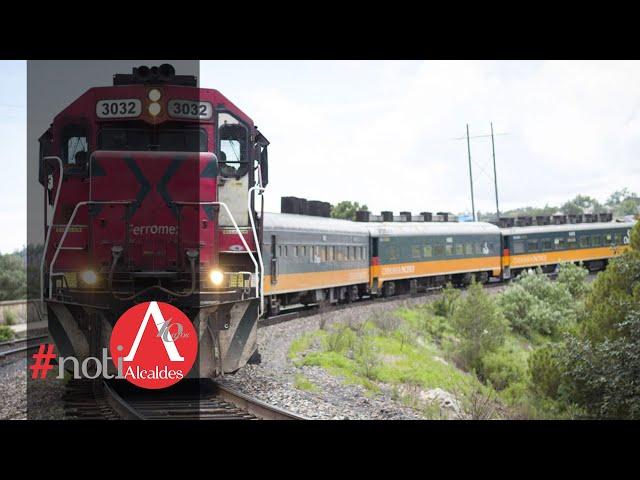NotiAlcaldes: Se incrementa tráfico de carga ferroviaria y pasajeros de tren en México