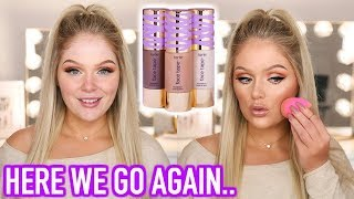 NEW TARTE FACE TAPE FOUNDATION | FIRST IMPRESSIONS + REVIEW