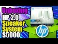 "UNBOXING HP Speaker System S5000 ""bocinas blancas"" - Droga Digital"