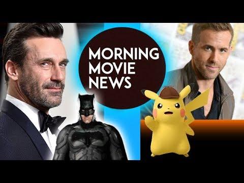 Jon Hamm wants to be Matt Reeves' Batman, Ryan Reynolds is Detective Pikachu