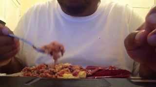 Eating/Whispering ASMR - ODD FOOD COMBO SERIES PT. 1