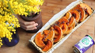 Butternut Squash Tart with Celery Salt - Baume des Anges Recipe #11