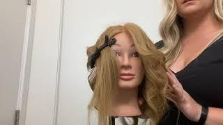 1970's Farrah Fawcett Hair Style Tutorial