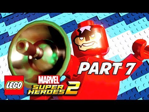 LEGO Marvel Super Heroes 2 Gameplay Walkthrough Part 7 - BOSS CLAW